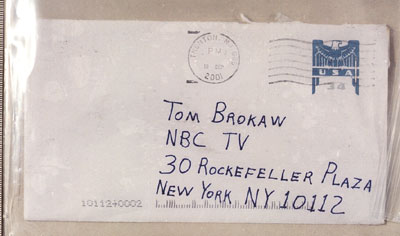 Anthrax letters Brokaw