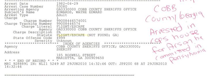 Atlanta Arrest