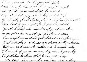 Atlanta Child Murders Poem By The Ghost Killer TGK Part One