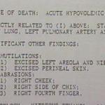Autopsy Peggy Hettrick
