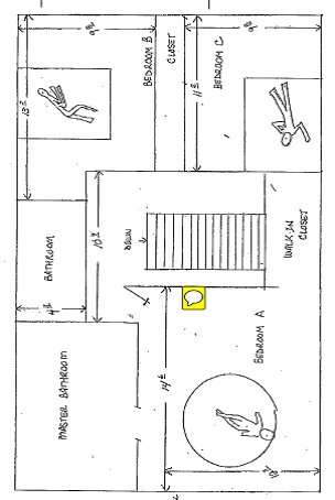 Coleman Crime Scene Sketch