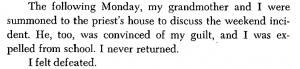 Ed Edwards view of Priests in his book Metamorphosis of a Criminal