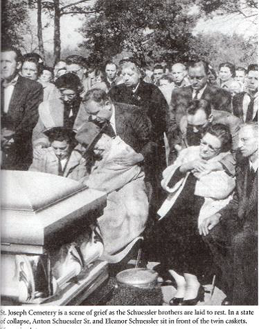 Edwards October 22 1955 Schuessler Peterson Funeral
