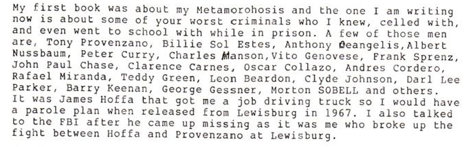 Edwards Prison Cell Mates In Lewisburg-Leavenworth