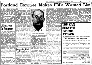 Edwards escapes makes FBI list