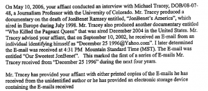 Emails JonBenet Ramsey 2002