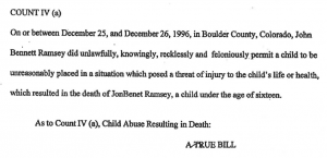 John Ramsey Indictment 2