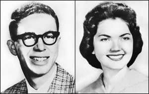 Larry Peyton and Beverly Allen