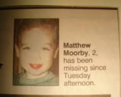 Mathew Moorby Missing