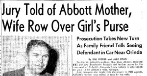 Stephanie Bryan Purse Found July 15 1955