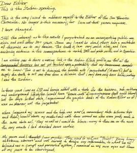 Tom voigt 2002 zodiac killer letter