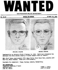 Zodiac Killer Wanted