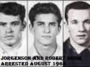 Robert Brom CArl Jorgenson Eddie Jorgenson
