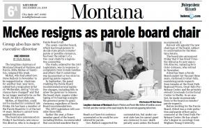 Mike McKee resigns